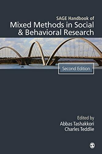 SAGE Handbook of Mixed Methods in Social & Behavioral Research: Tashakkori, Abbas; Teddlie, ...