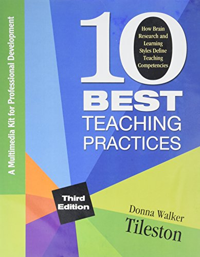 9781412973977: Ten Best Teaching Practices (Multimedia Kit): How Brain Research and Learning Styles Define Teaching Competencies
