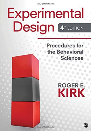 9781412974455: Experimental Design: Procedures for the Behavioral Sciences