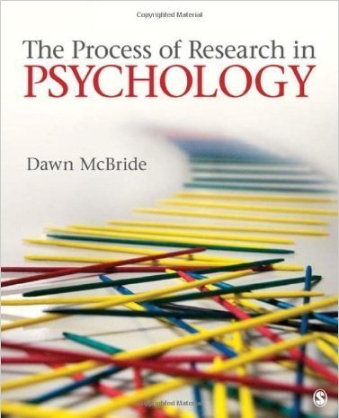 9781412974479: The Process of Research in Psychology