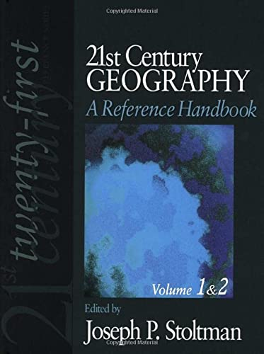 9781412974646: 21st Century Geography: A Reference Handbook (21st Century Reference)