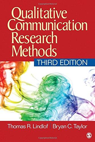 9781412974721: Qualitative Communication Research Methods