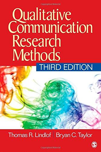 9781412974738: Qualitative Communication Research Methods