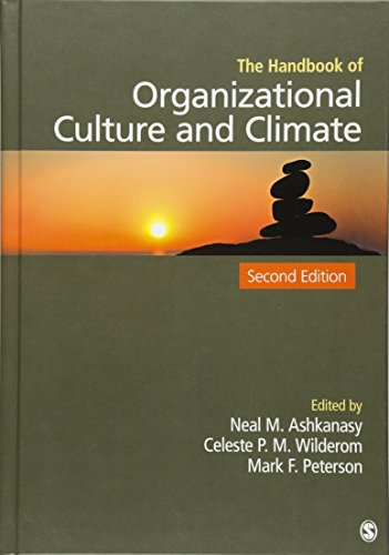 9781412974820: The Handbook of Organizational Culture and Climate