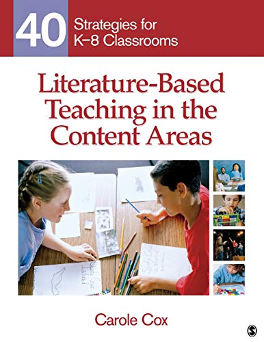 9781412974936: Literature-Based Teaching in the Content Areas: 40 Strategies for K-8 Classrooms