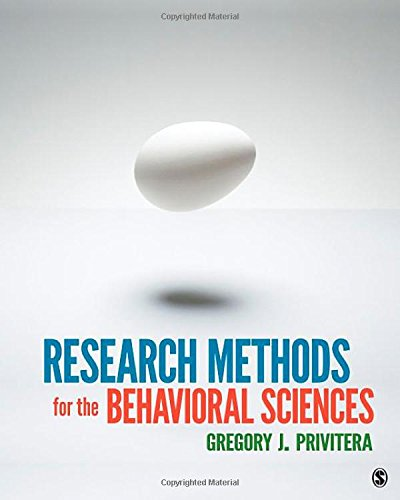 9781412975117: Research Methods for the Behavioral Sciences
