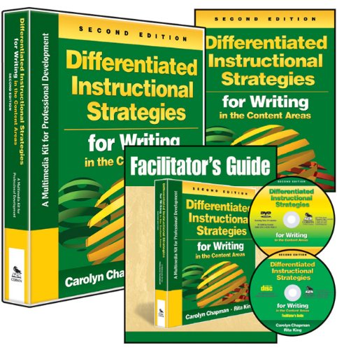 Differentiated Instructional Strategies for Writing in the Content Areas: A Multimedia Kit for ...