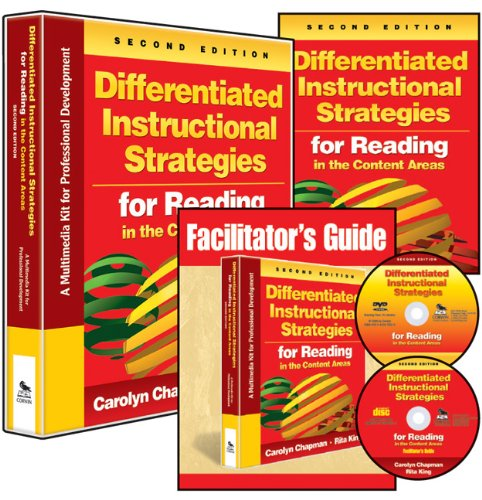 Differentiated Instructional Strategies for Reading in the Content Areas: A Multimedia Kit for Professional Development