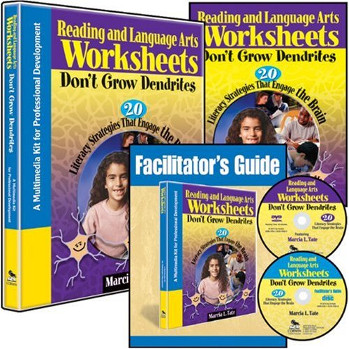 9781412975629: Reading and Language Arts Worksheets Don′t Grow Dendrites (Multimedia Kit): 20 Literacy Strategies That Engage the Brain