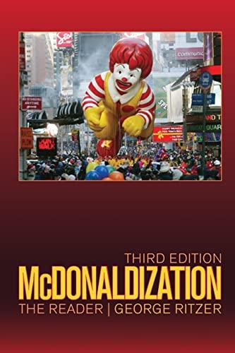9781412975827: McDonaldization: The Reader