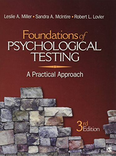 9781412976398: Foundations of Psychological Testing: A Practical Approach