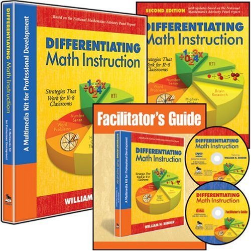 Differentiating Math Instruction: Strategies That Work for K-8 Classrooms (Mixed media product)