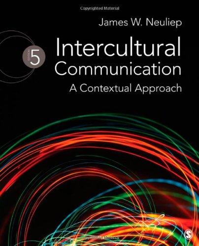 9781412976893: Intercultural Communication: A Contextual Approach