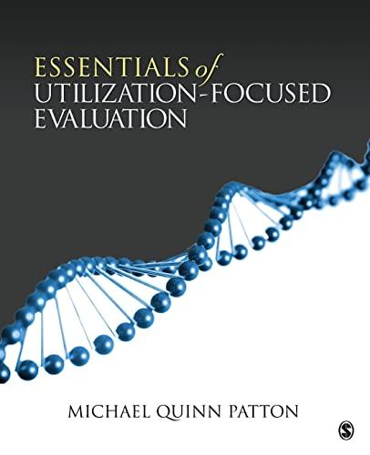 9781412977418: Essentials of Utilization-Focused Evaluation