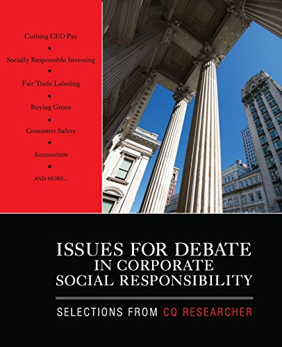 9781412977562: Issues for Debate in Corporate Social Responsibility: Selections From CQ Researcher