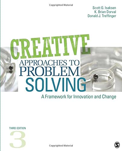9781412977739: Creative Approaches to Problem Solving: A Framework for Innovation and Change