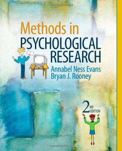 9781412977883: Methods in Psychological Research