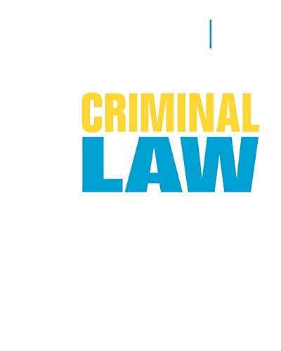 Criminal Law: Russell-Brown, Katheryn; Davis,
