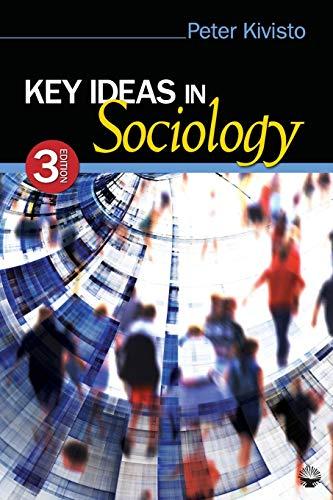9781412978118: Key Ideas in Sociology