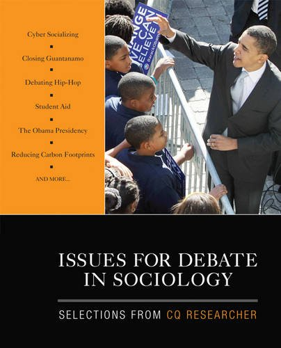9781412978606: Issues for Debate in Sociology: Selections From CQ Researcher