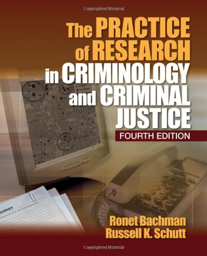 9781412978750: The Practice of Research in Criminology and Criminal Justice