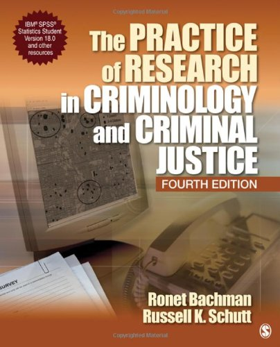 9781412978767: The Practice of Research in Criminology and Criminal Justice