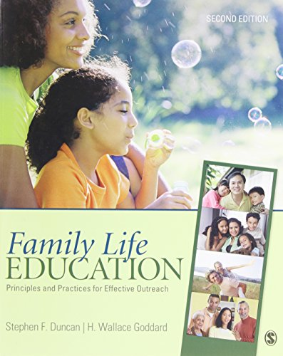 Family Life Education : Principles and Practices: Stephen F. Duncan;