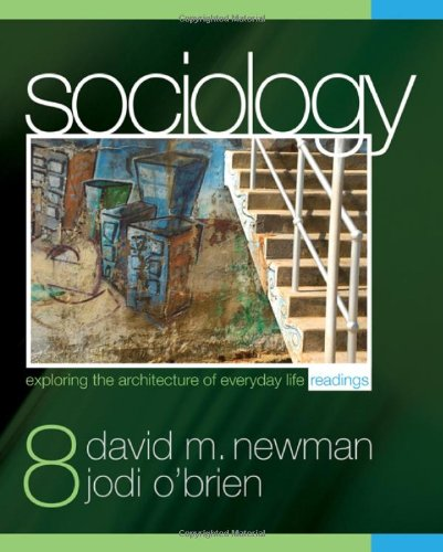 9781412979429: Sociology: Exploring the Architecture of Everyday Life Readings