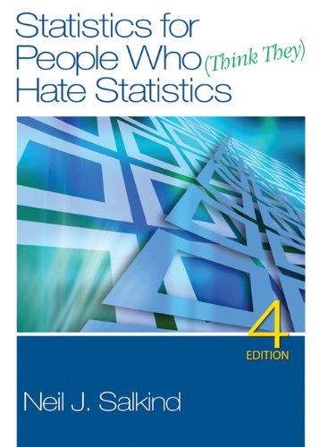 9781412979603: Statistics for People Who (Think They) Hate Statistics [With DVD]