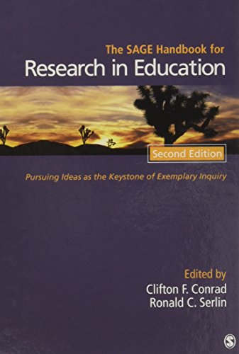 9781412980005: The SAGE Handbook for Research in Education: Pursuing Ideas as the Keystone of Exemplary Inquiry