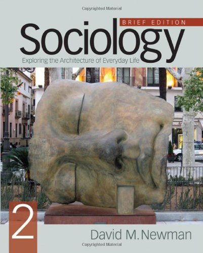 9781412980081: Sociology: Exploring the Architecture of Everyday Life, Brief Edition
