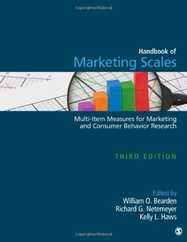 9781412980180: Handbook of Marketing Scales: Multi-Item Measures for Marketing and Consumer Behavior Research (Association for Consumer Research)