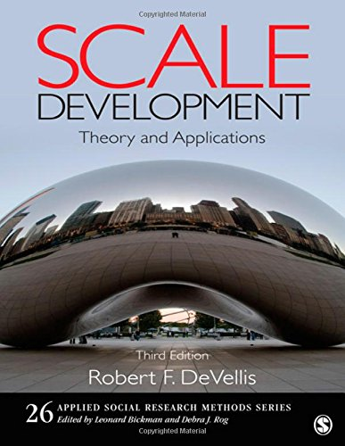 9781412980449: Scale Development: Theory and Applications (Applied Social Research Methods)
