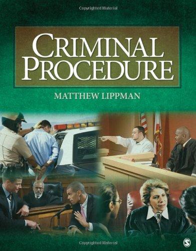 Criminal Procedure: Matthew Lippman