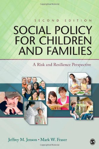9781412981392: Social Policy for Children and Families: A Risk and Resilience Perspective