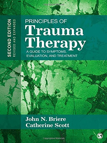 9781412981439: Principles of Trauma Therapy: A Guide to Symptoms, Evaluation, and Treatment