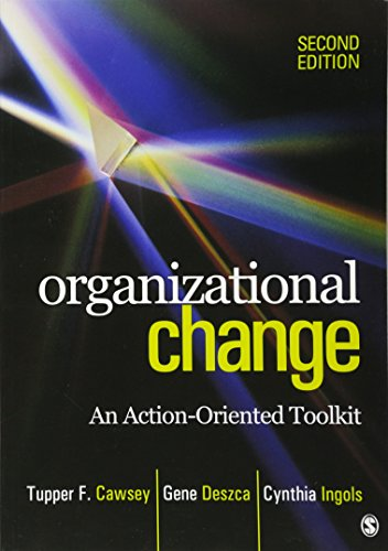 9781412982856: Organizational Change: An Action-Oriented Toolkit
