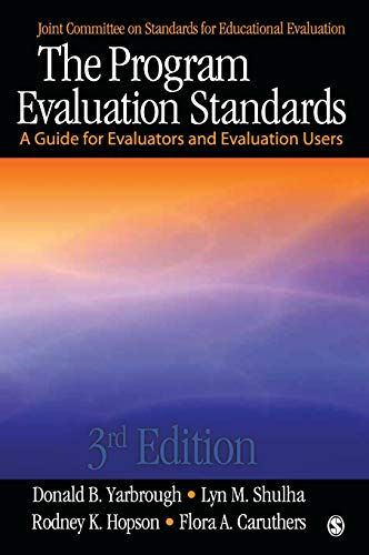 9781412986564: The Program Evaluation Standards: A Guide for Evaluators and Evaluation Users (Joint Committee on Standards for Educational Evaluation)