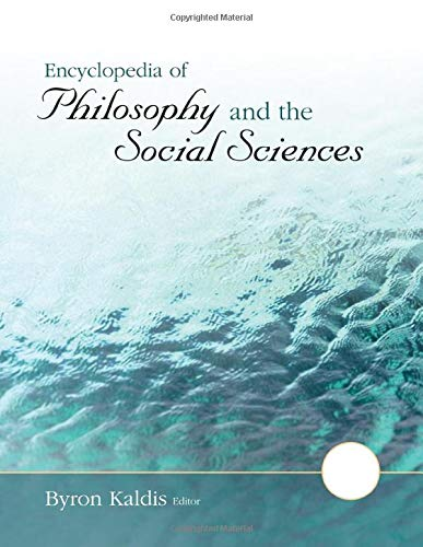 9781412986892: Encyclopedia of Philosophy and the Social Sciences