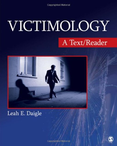 9781412987325: Victimology: A Text/Reader (SAGE Text/Reader Series in Criminology and Criminal Justice)