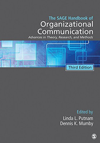 9781412987721: The SAGE Handbook of Organizational Communication: Advances in Theory, Research, and Methods