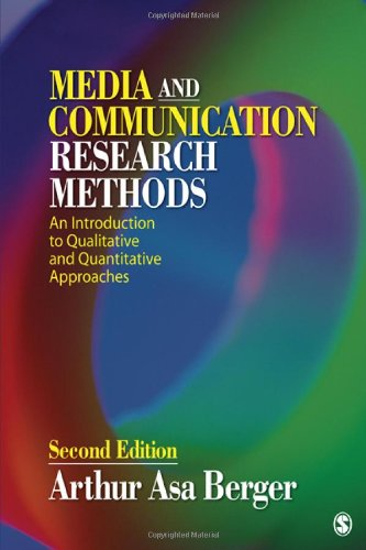 9781412987776: Media and Communication Research Methods: An Introduction to Qualitative and Quantitative Approaches