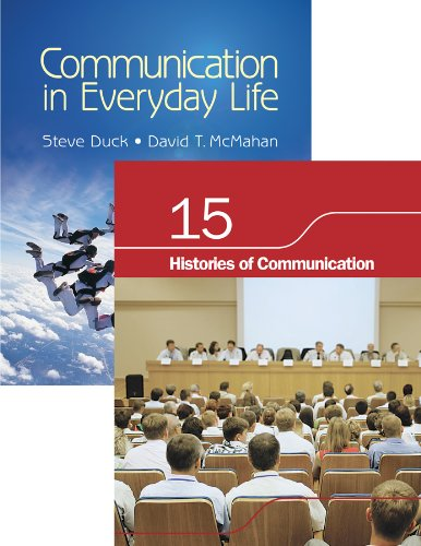 9781412987929: BUNDLE: Duck/McMahan: Communication in Everyday Life + Chapter 15. Histories of Communication