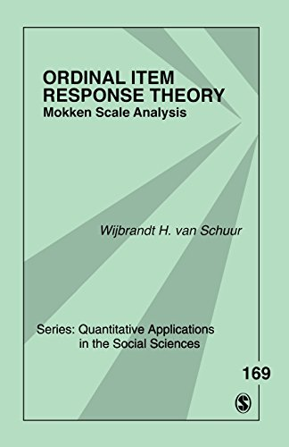9781412988049: Ordinal Item Response Theory: Mokken Scale Analysis (Quantitative Applications in the Social Sciences)