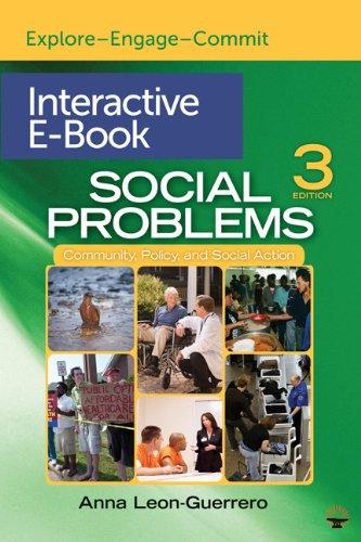 Social Problems Interactive E-Book: Dr. Anna Y.