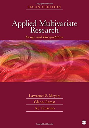 9781412988117: Applied Multivariate Research: Design and Interpretation