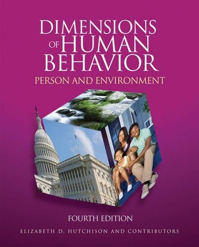 9781412988797: Dimensions of Human Behavior: Person and Environment, 4th Edition
