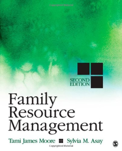 9781412991179: Family Resource Management
