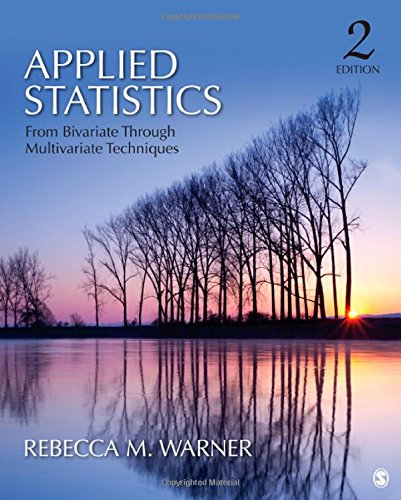 9781412991346: Applied Statistics: From Bivariate Through Multivariate Techniques