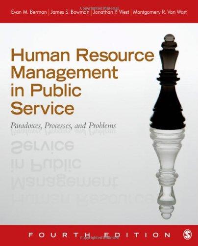 Human Resource Management in Public Service : Montgomery R. Van